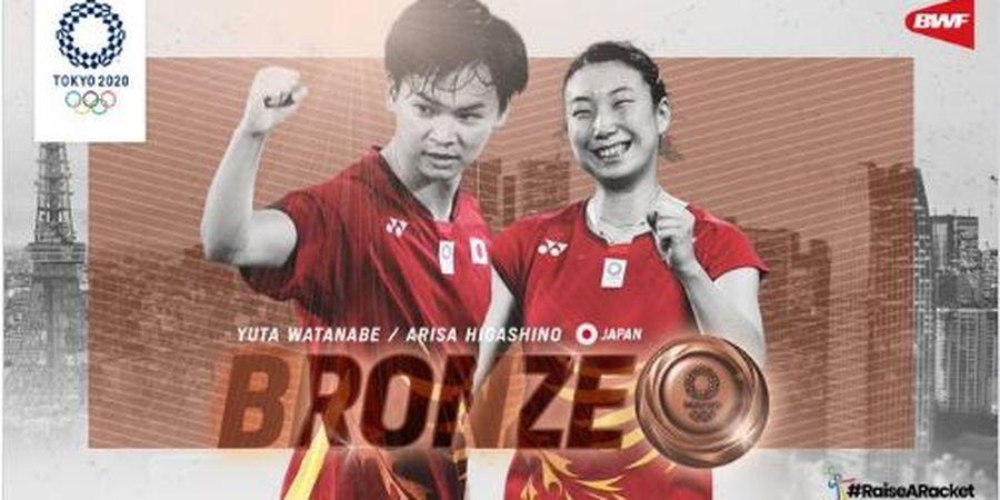 Olimpiade Tokyo 2020 - Yuta Watanabe: Medali Perunggu Jepang di Ganda Campuran Diraih 3 Orang