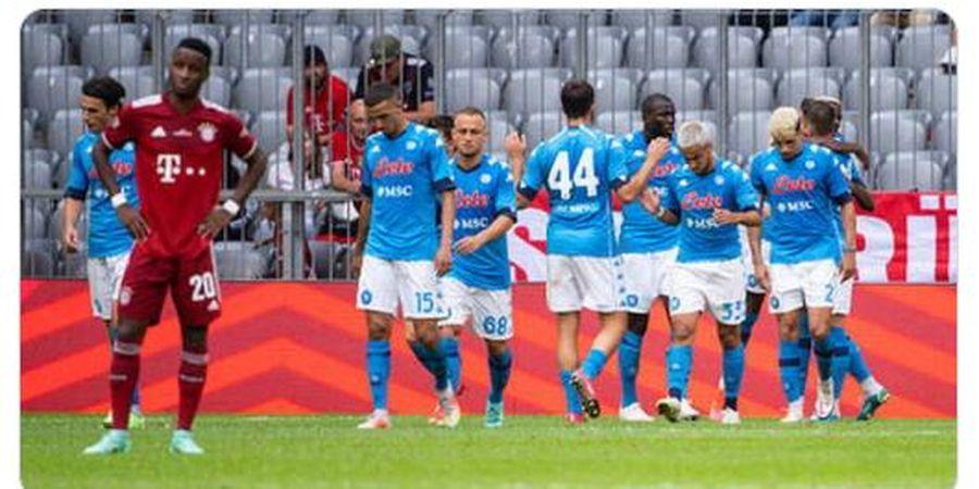 Hasil Pramusim - Bayern Muenchen Takluk 0-3 dari Napoli di Allianz Arena