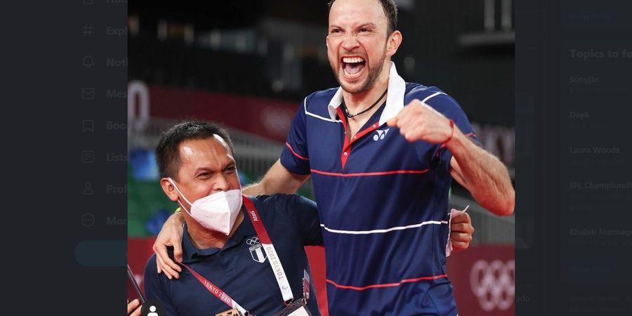 Olimpiade Tokyo 2020 - Profil Muamar Qadafi, Tangan Magis Indonesia yang Bawa Kevin Cordon Ukir Kisah Fantastis
