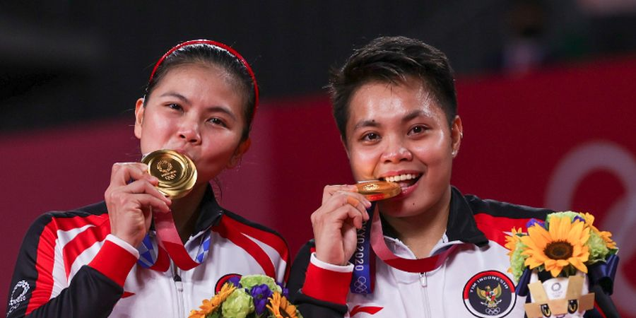 Respons Presiden Joko Widodo atas Kesuksesan Greysia/Apriyani Raih Emas di Olimpiade Tokyo 2020