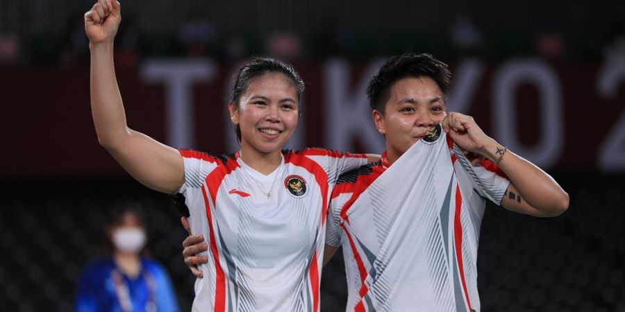 Olimpiade Tokyo 2020 - Greysia/Apriyani Bawa Pulang Emas, Indonesia Sejajari Rekor Sangar Tiongkok
