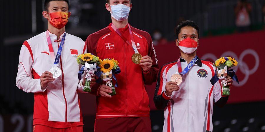 Olimpiade Tokyo 2020 - Anthony Tonton Laga Cordon Saat Hadapi Axelsen