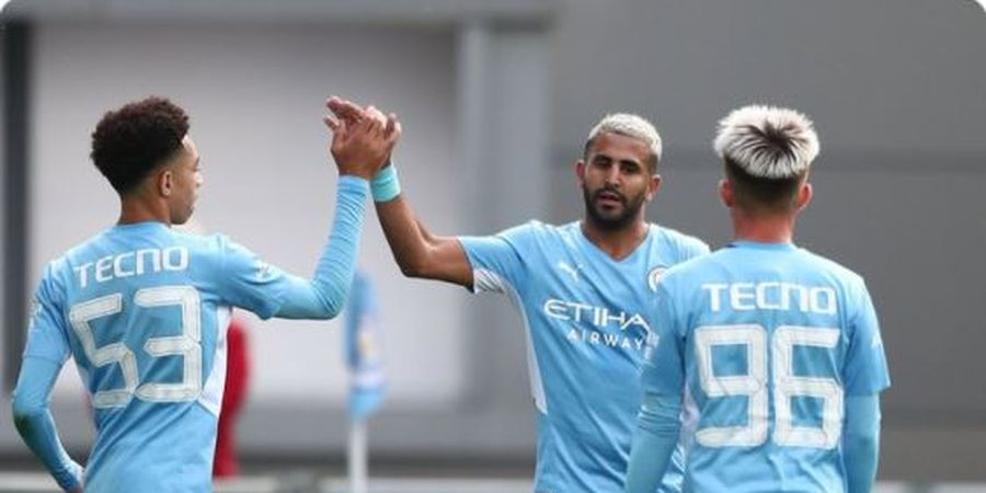 Susunan Pemain Leicester Vs Man City - The Citizens Mainkan Bocah Ajaib dari Awal