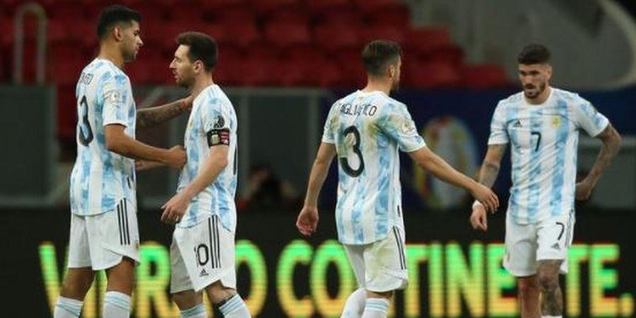 Imbas Dihentikannya Laga Brasil Vs Argentina - Bek Idaman Lionel Messi Absen Bela La Albiceleste