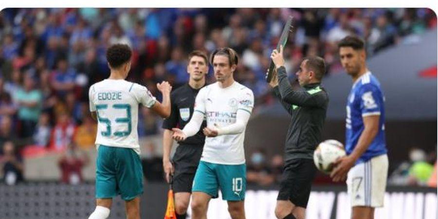 Hasil Community Shield - Debut Malang Jack Grealish, Man City Kalah, Leicester City Juara