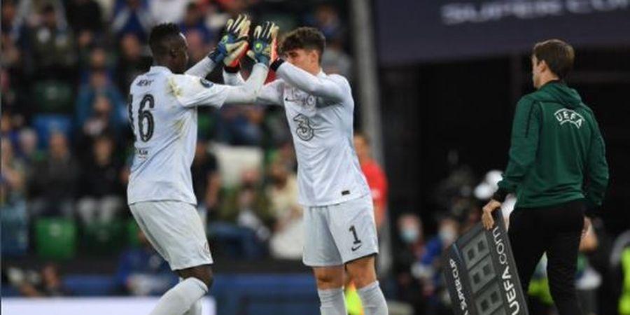 Demi Chelsea, Edouard Mendy Rela Posisinya Diambil Alih Kepa Arrizabalaga untuk Adu Penalti