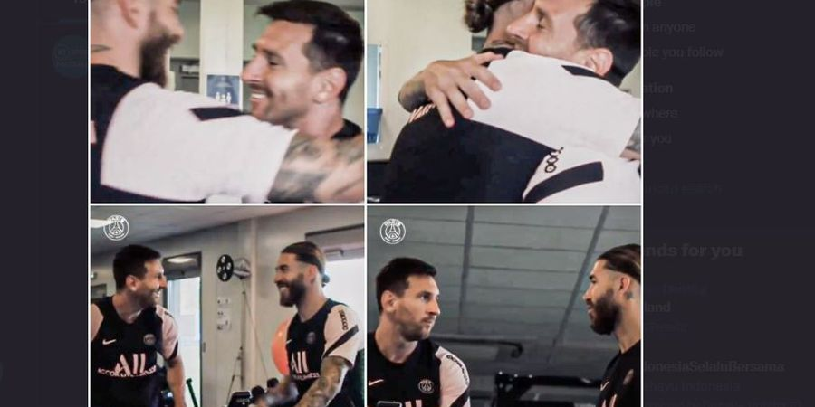 Akhirnya Messi Bertemu Sergio Ramos! Momen Mengerikan Sekaligus Indah