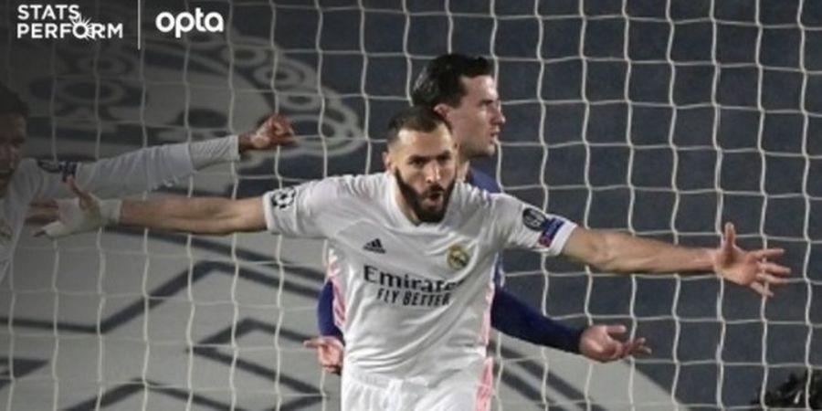 Hasil Liga Spanyol - Karim Benzema Gacor, Real Madrid Atasi Perlawanan Alaves