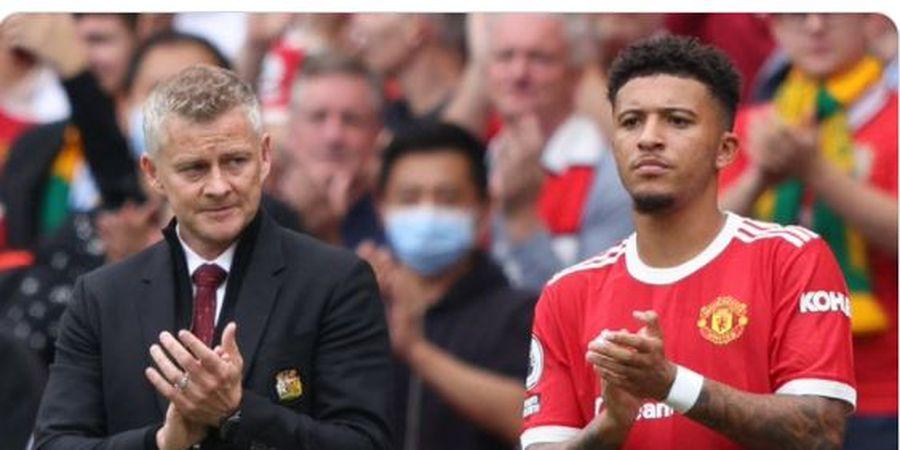 Starting XI Southampton Vs Manchester United - Solskjaer Lakukan 2 Perubahan, Jadon Sancho Urung Debut Starter