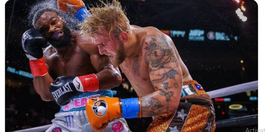 Gagal KO Jake Paul, Eks Juara UFC Terikat Kontrak Tidak Boleh Menang