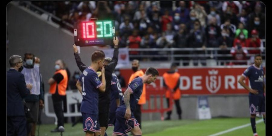 Hasil Liga Prancis - Debut Lionel Messi Kurang Menggigit, Gagal Teruskan Tradisi 3 Bintang Lama PSG