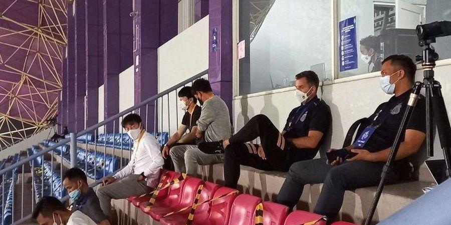 Obrolan Misterius Shin Tae-yong dan Simon McMenemy dalam Laga Bhayangkara FC Vs Persiraja