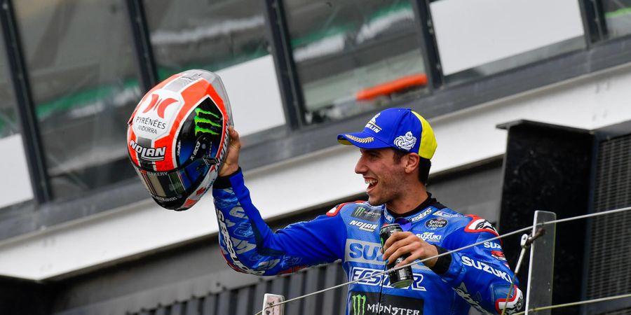 MotoGP Aragon 2021 - Berbekal Podium Silverstone, Alex Rins Songsong Sirkuit Penuh Kenangan