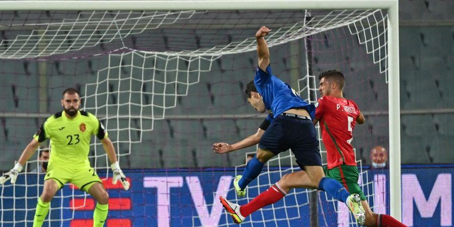 Italia Imbang Lawan Bulgaria, Roberto Mancini Sesalkan Kualitas Penyelesaian Akhir