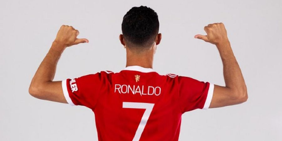 RESMI - Cristiano Ronaldo Kembali Pakai Nomor 7 di Man United