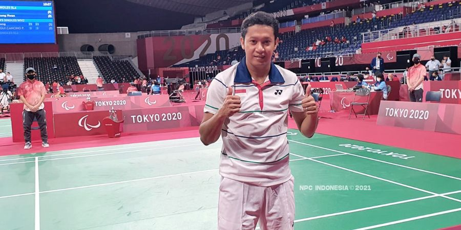 Paralimpiade Tokyo 2020 - Fredy Setiawan Rebut Perunggu, Indonesia Kini Punya 8 Medali
