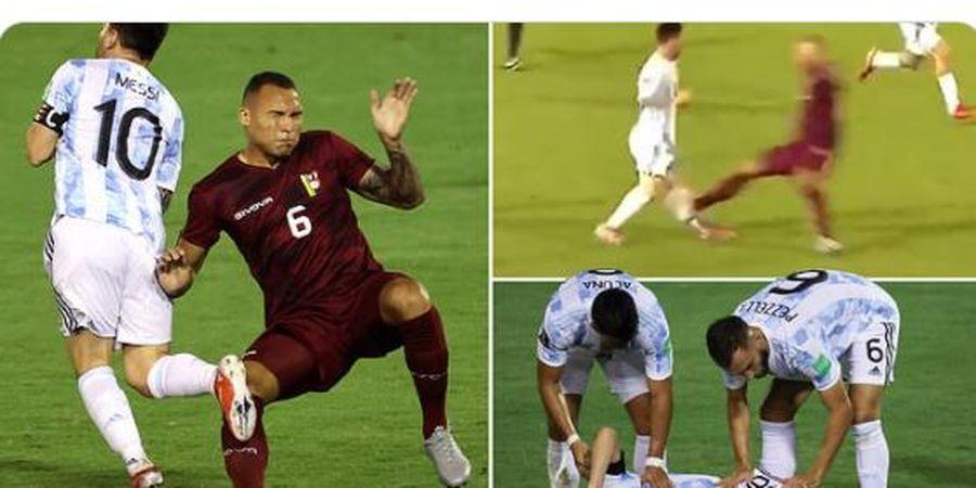 Brasil Vs Argentina - Lionel Messi Bisa Tampil Usai Kena Tekel Horor, Misi Balas Dendam Selecao Berat