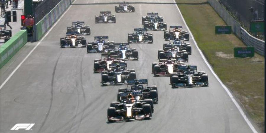 Hasil F1 GP Belanda 2021 - Tampil Tanpa Cela, Max Verstappen Menang