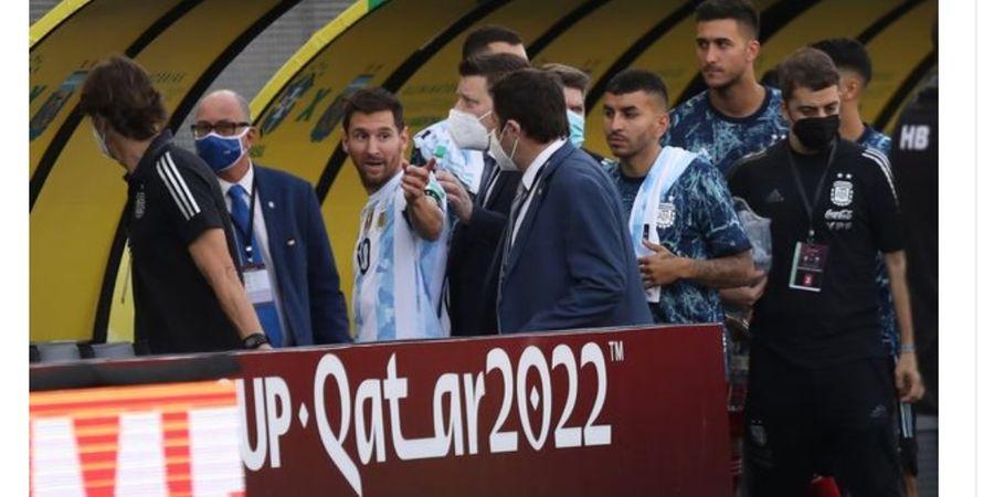 Omelan Penuh Amarah Lionel Messi pada Aparat Penggerebek Laga Brasil Vs Argentina