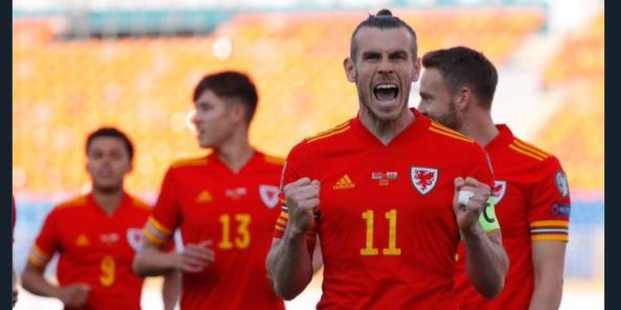 Hattrick Pertama Gareth Bale Buka Puasa 2 Tahun, Menangkan Wales Menit 93