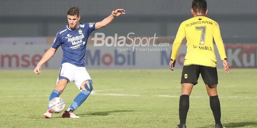 Persib vs Bali United - Maung Bandung Tanpa Bek Penting dalam Perebutan Puncak Klasemen Liga 1
