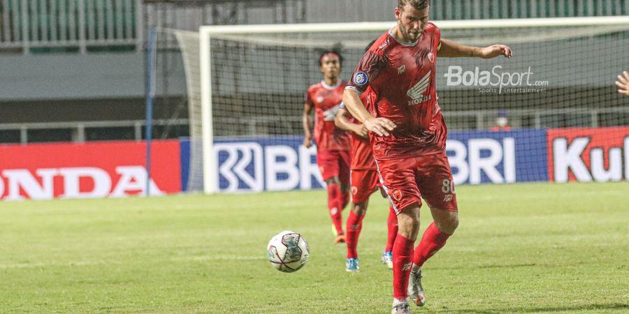 Diwarnai Dua Tendangan Penalti, PSM Makassar Berhasil Berikan Kekalahan Pertama Untuk Bali United