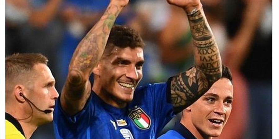 Mantapkan Kemenangan Italia, Di Lorenzo Akui Golnya Tidak Disengaja
