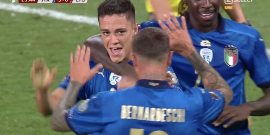 Hasil Kualifikasi Piala Dunia 2022 - Jorginho Jadi Kapten Non-Pribumi Kedua, Italia Libas Lithuania, Pengganti Cristiano Ronaldo Cetak Brace