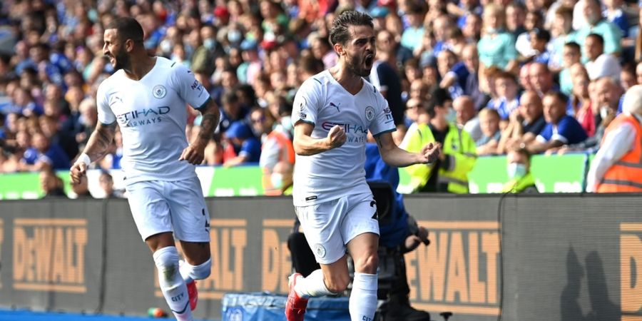 Hasil Liga Inggris - Kompatriot Cristiano Ronaldo Cetak Gol Perdana, Man City Bungkam Leicester