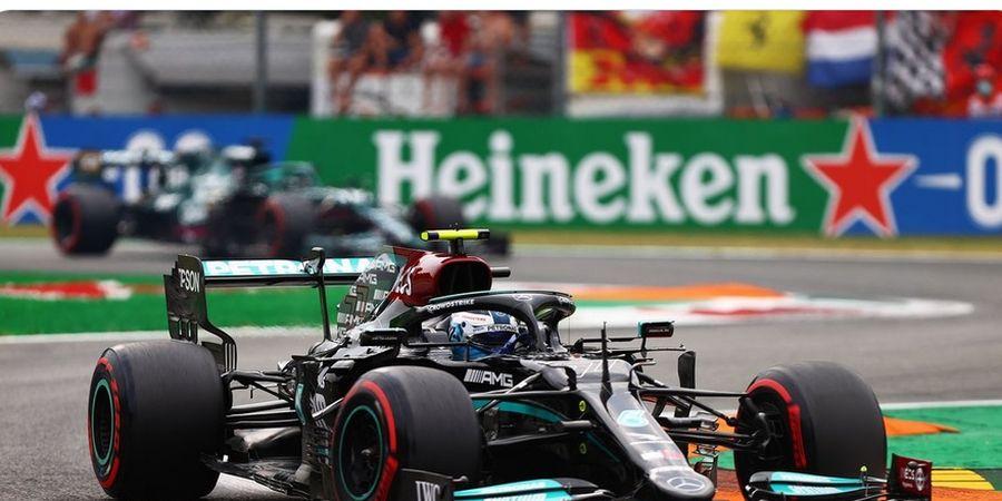 Hasil Sprint Qualifying F1 GP Italia 2021 - Bottas Terdepan, Verstappen Kedua, Hamilton Kelima