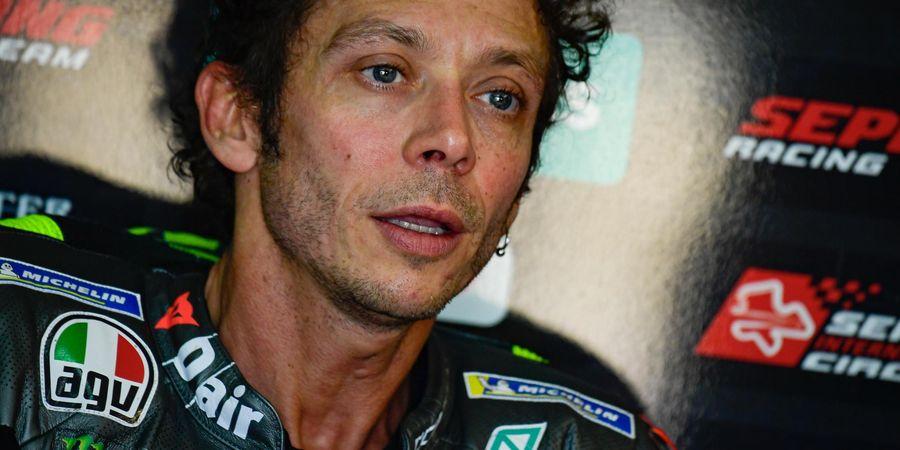 Makin Dekat Menuju Pensiun, Valentino Rossi Mengaku Malah Paranoia