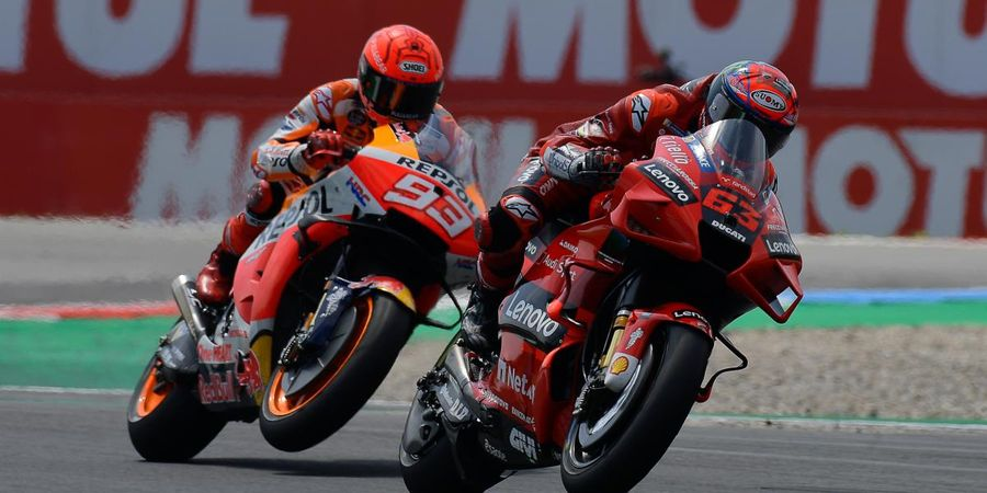 Tak Punya Kelemahan! Marc Marquez Akui Francesco Bagnaia Lebih Sangar ketimbang Rivalnya
