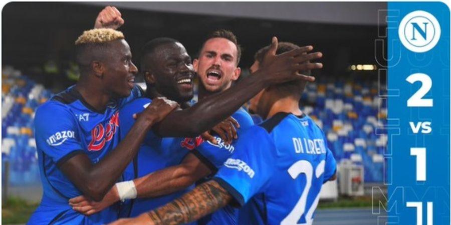 Hasil Liga Italia - Gol Telat Kalidou Koulibaly Antar Napoli Pecundangi Juventus