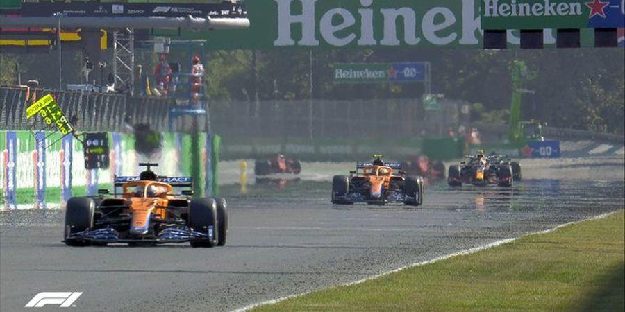 Hasil F1 GP Italia 2021 - Ricciardo Juara, Hamilton dan Verstappen Gagal Finis