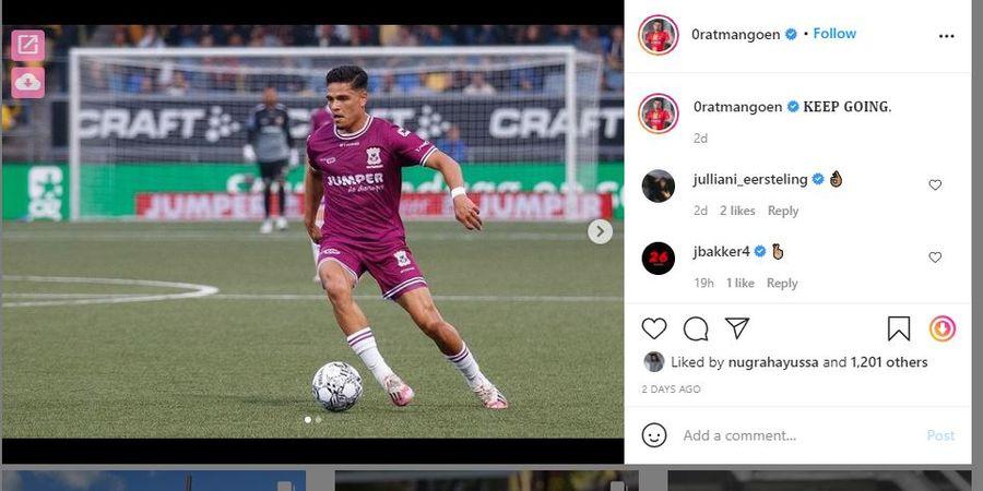 Ragnar Oratmangoen, Pemain Eredivisie Bersedia Bela Timnas Indonesia tetapi Garuda Harus Naik Level Dulu
