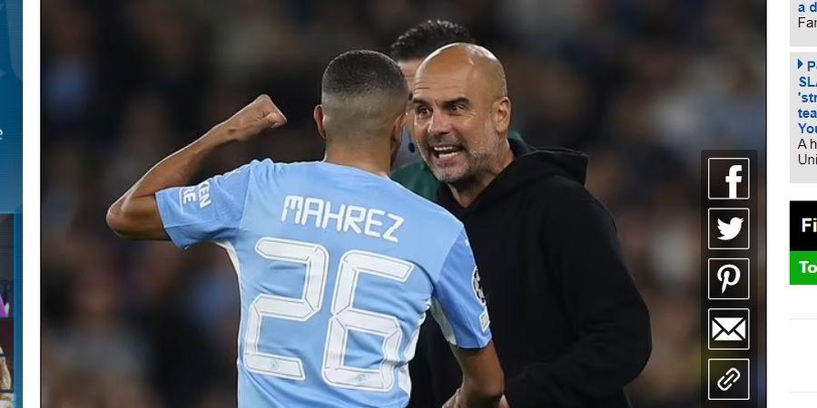 Man City Pesta Gol, Pep Guardiola Malah Berantem dengan Mahrez dan Grealish, Ada Apa?