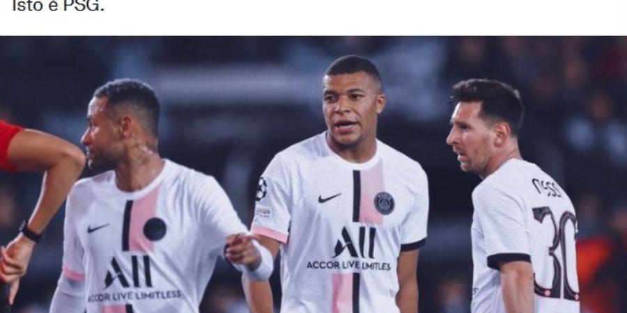 Bukan Cuma Pochettino, Pelatih Lain Juga bakal Kesulitan Seimbangkan Neymar, Messi, dan Mbappe