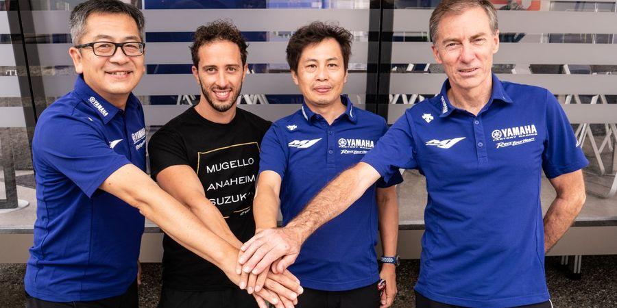 Apa Itu Ducati, Andrea Dovizioso Sebut Yamaha Pabrikan Impian Setelah Resmi Bergabung