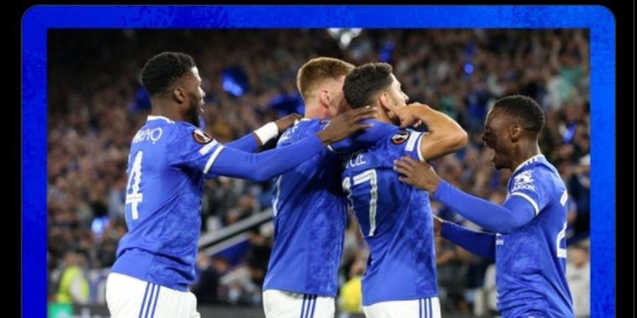 Hasil Liga Europa - Leicester City Gagal Menang, Ditahan Imbang Napoli 2-2
