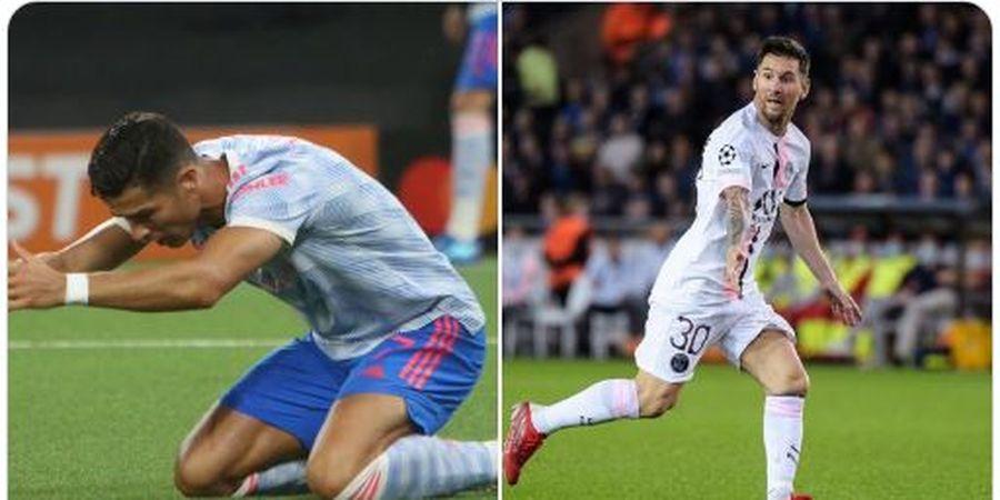 Ronaldo dan Messi Sama-sama Diragukan Bakal Menangi Liga Champions