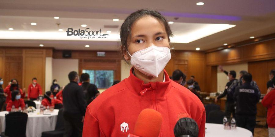 Shalika Aurelia Viandrisa Optimistis Timnas Wanita Lolos ke Piala Asia 2022