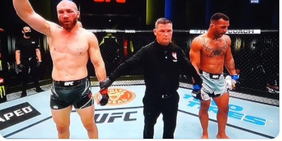 Hasil UFC Vegas 37 - Ion Cutelaba Bully Lawan 3 Ronde sampai Gigi Patah