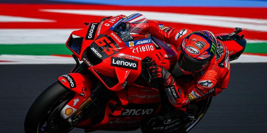 Hasil MotoGP San Marino 2021 - Keran Jebol! Francesco Bagnaia Menang Beruntun, Atasi Serbuan Quartararo