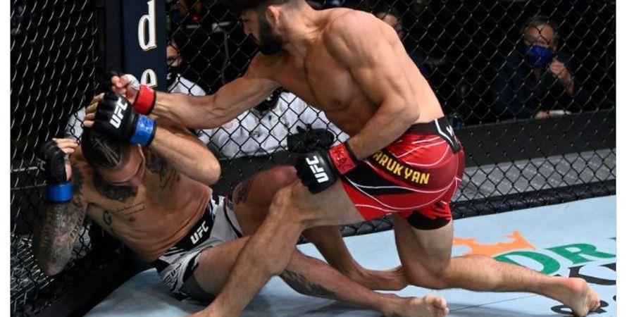 Hasil UFC Vegas 37 - Korban Murid Khabib Nurmagomedov Raih KO Pertama