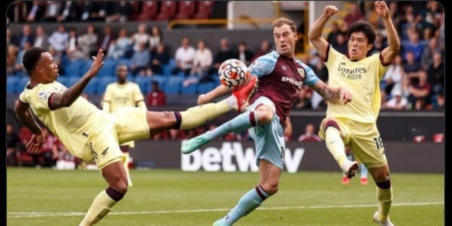 Hasil dan Klasemen Liga Inggris - Menang Minimalis atas Burnley, Arsenal Jauhi Papan Bawah