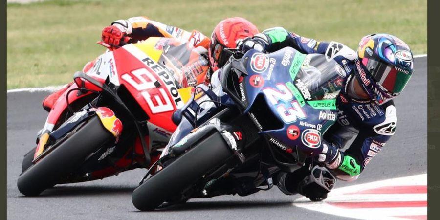 Valentino Rossi Bilang Enea Bastianini Seperti Setan pada MotoGP San Marino