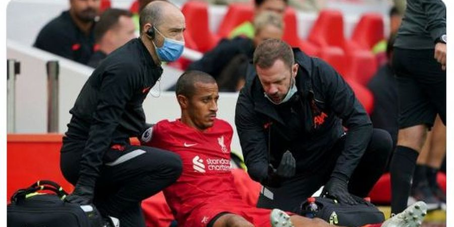 Thiago Cedera dan Akan Absen dalam 2 Laga, Liverpool Diterpa Hal Buruk