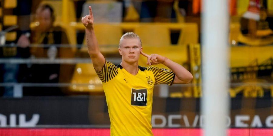 Bak Mesin, Haaland Lebih Rajin Cetak Gol daripada Main untuk Dortmund