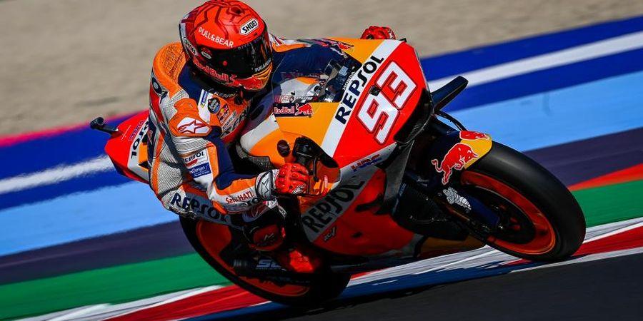 Diterpa Kesulitan di MotoGP 2021, Marc Marquez Dianggap Gila oleh Andrea Dovizioso