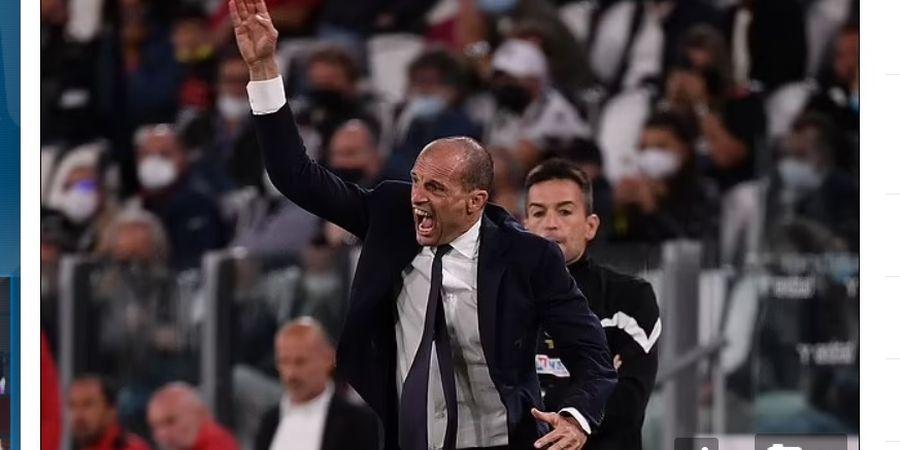 Juventus Terburuk dalam 60 Tahun, Allegri Mengamuk dan Umpatannya Terdengar Jelas